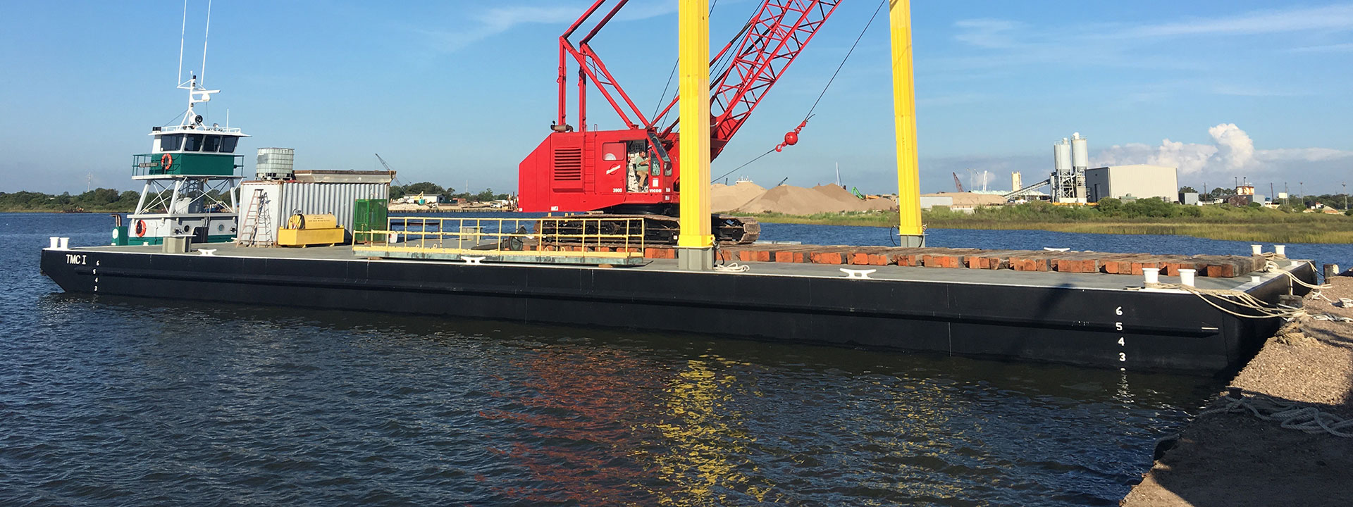 Barges - Taylor Marine Construction Inc